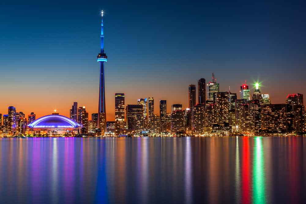 Cn Tower Observation Deck in Toronto