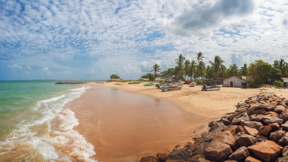 Kalpitiya Beach in sri lanka