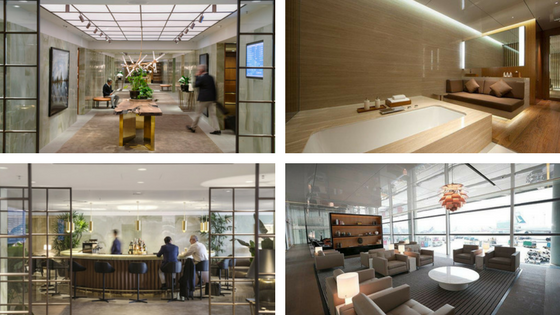 Cathay Pacific airport lounges