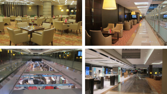 Emirate Airlines lounges