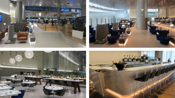 Qatar Airways lounges