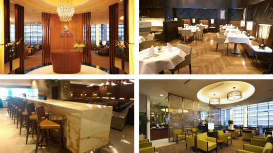 Singapore Airlines lounges