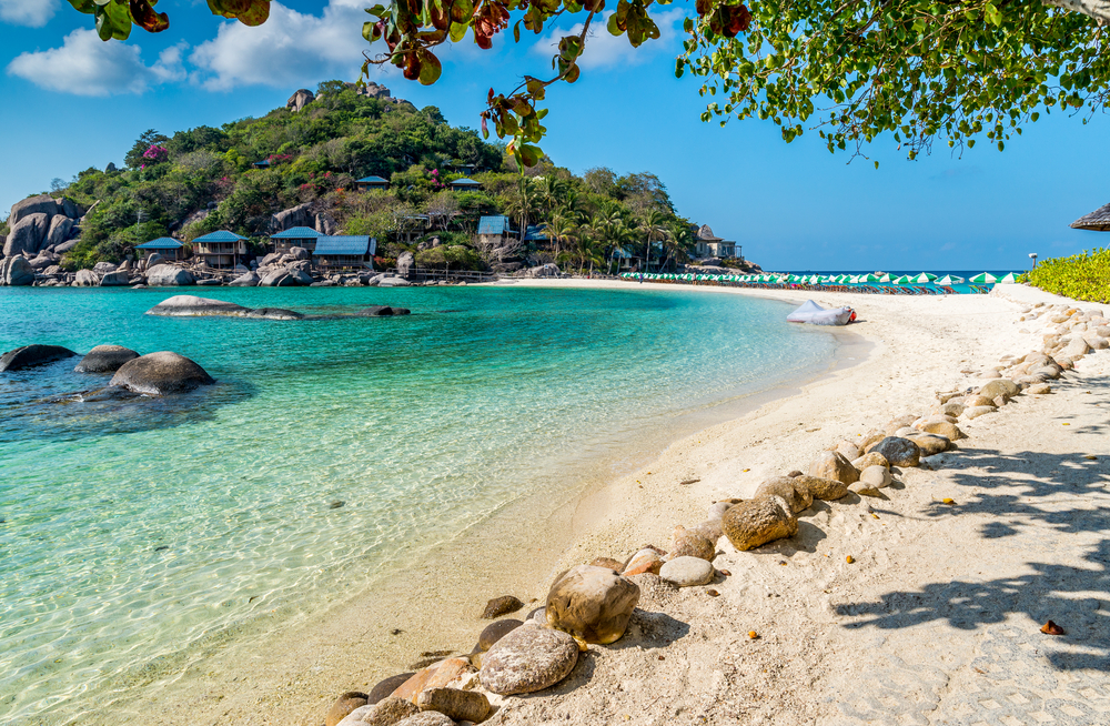Ko Tao island in beautiful Thailand