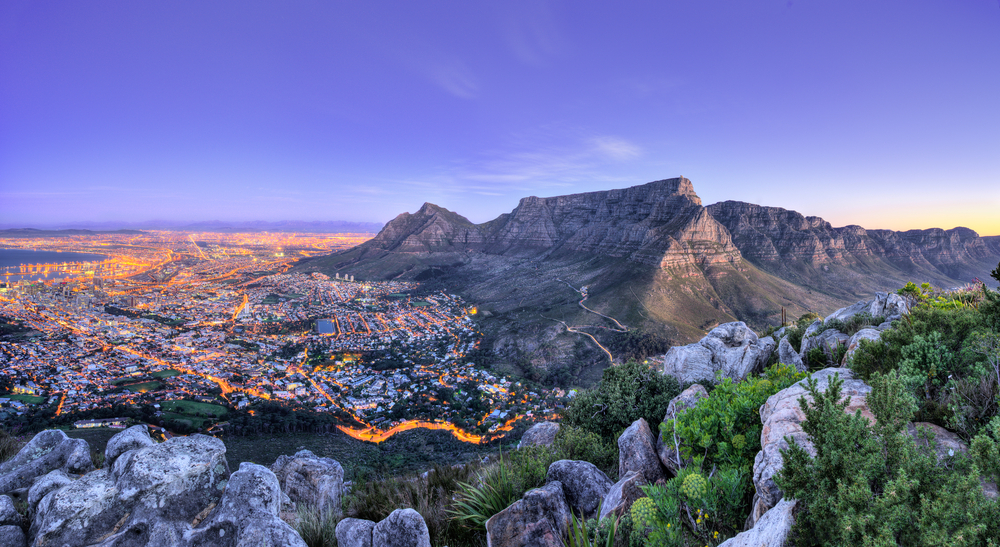 Table Mountain National Park in Cape Town