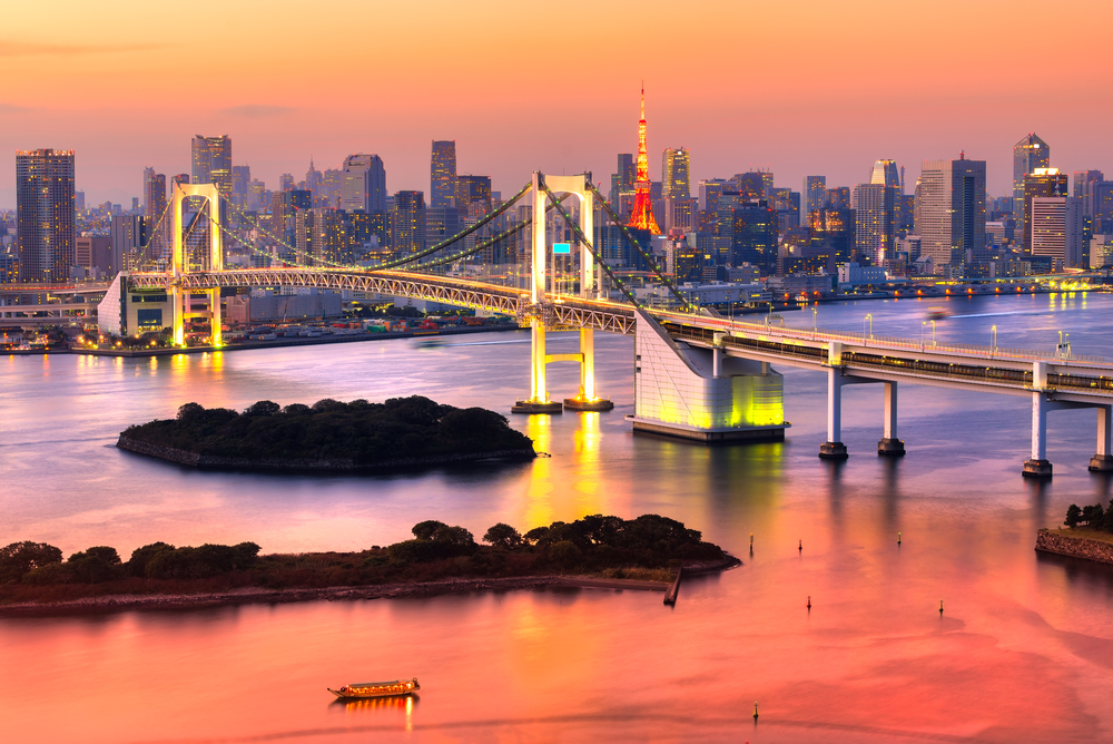 Tokyo holiday destination