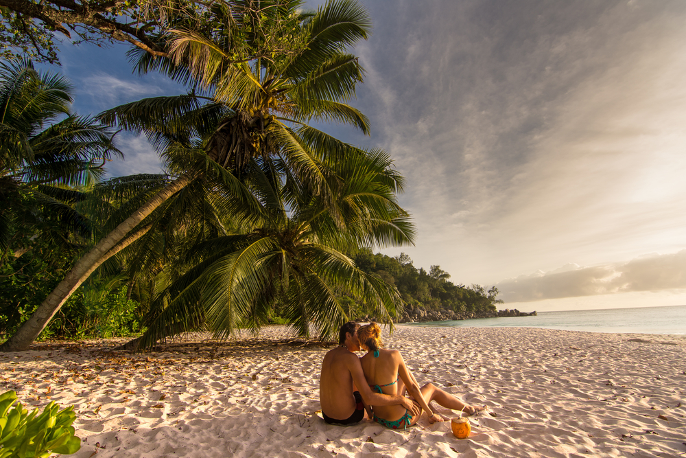 Seychelles romantic destination for couples