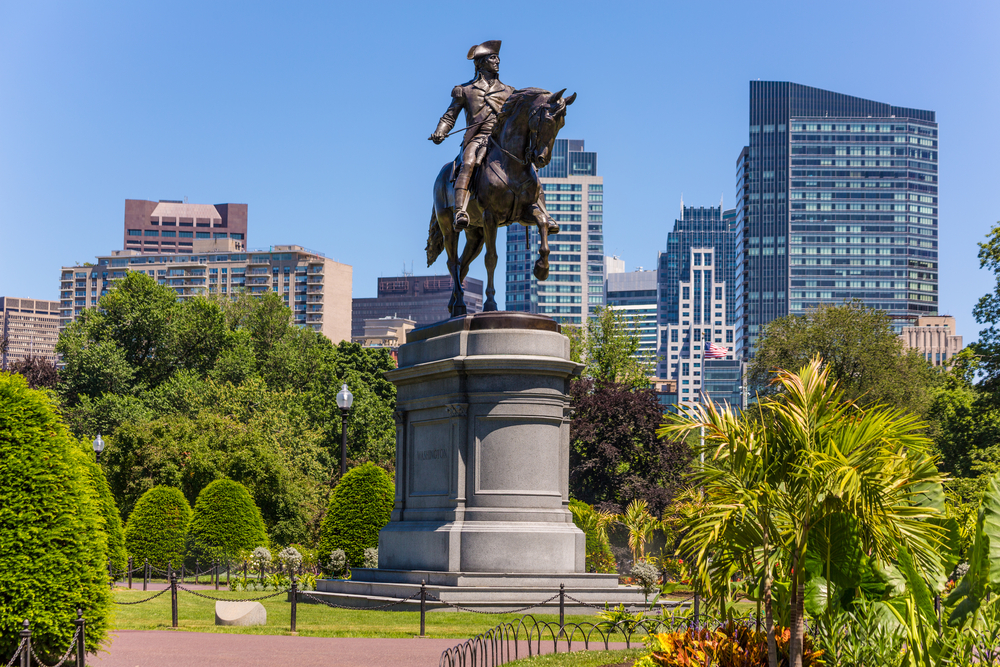 Boston Common in Boston
