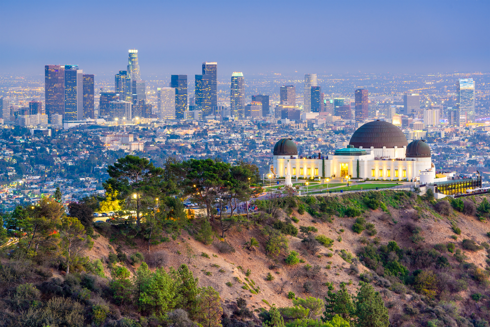 Griffith Observatory and Griffith Park in Los Angeles