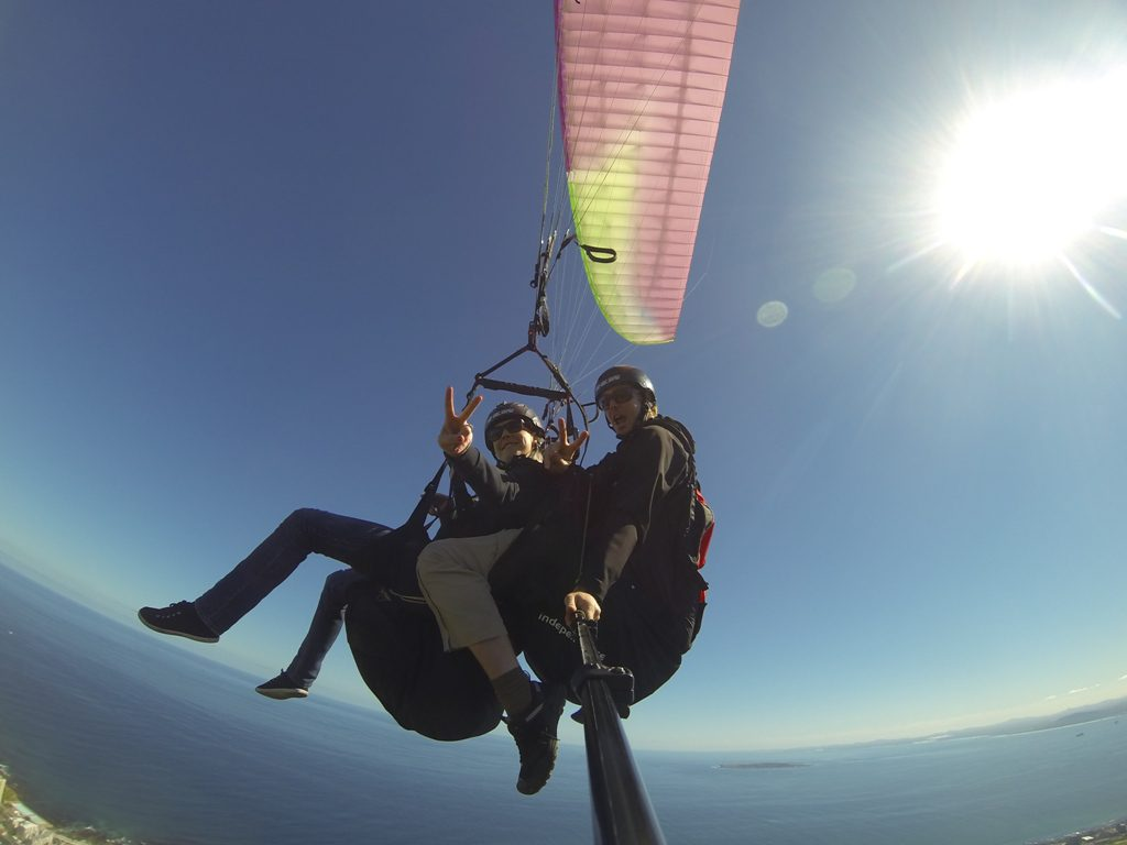 Paragliding in Cape Town - adventure holiday