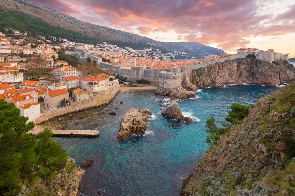 Dubrovnik, Croatia quiet in summer