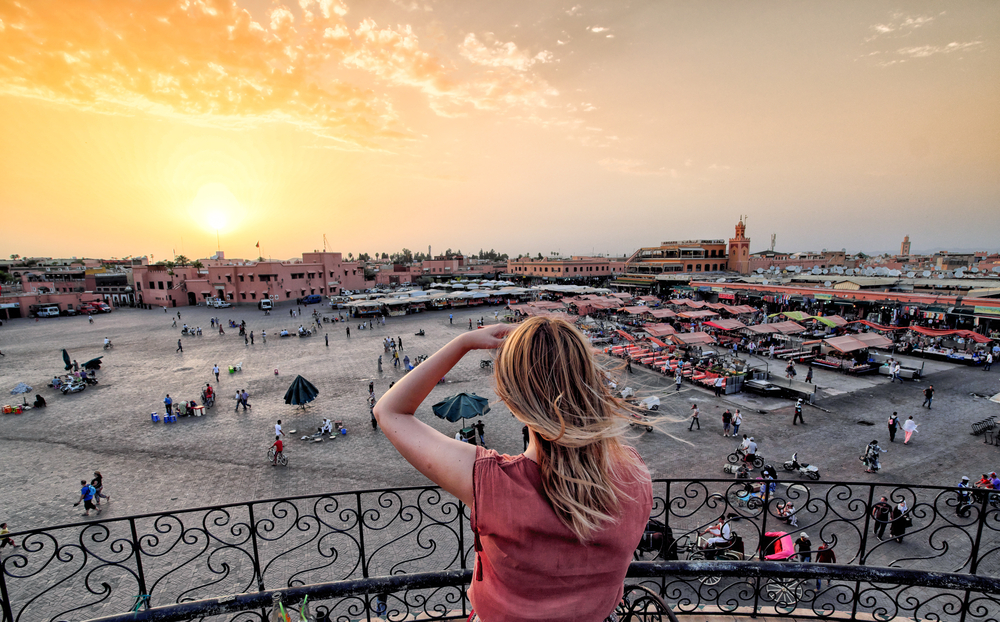 Marrakech, Morocco without crowds in summer