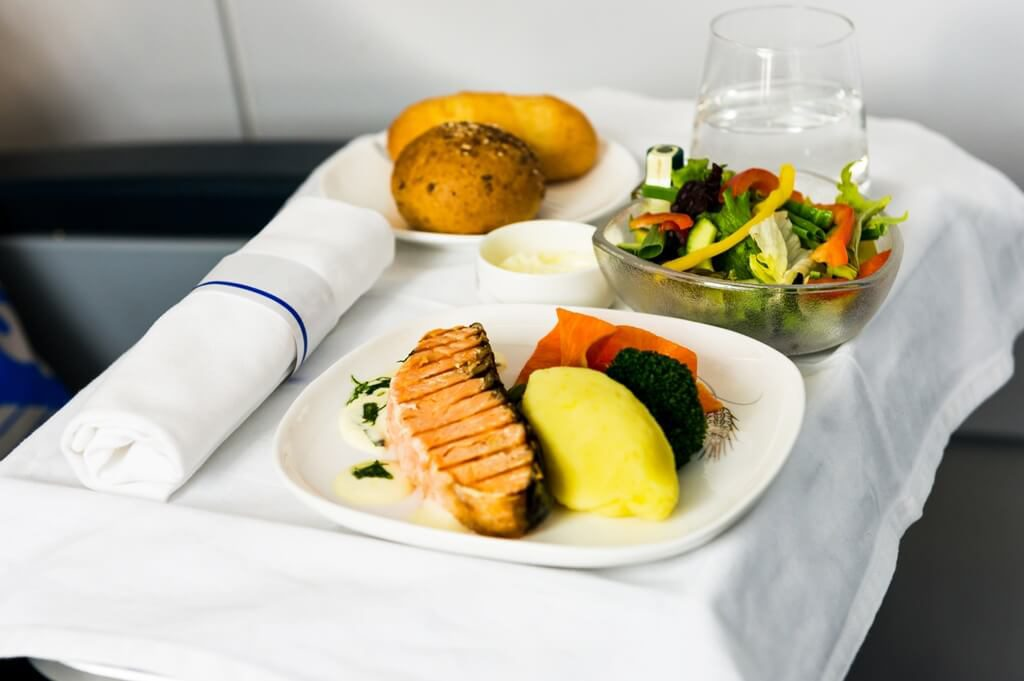 first class meals