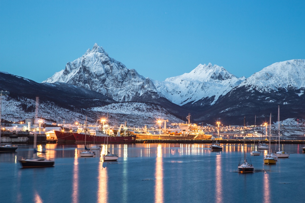 ushuaia romantic destination