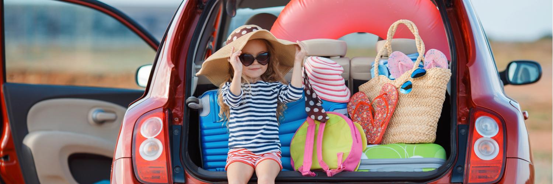 child at beach holiday