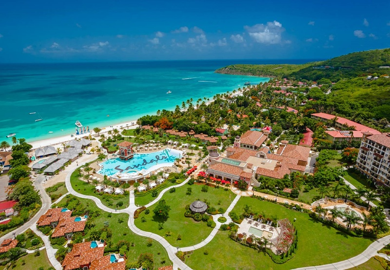 sandals antigua resort couples only