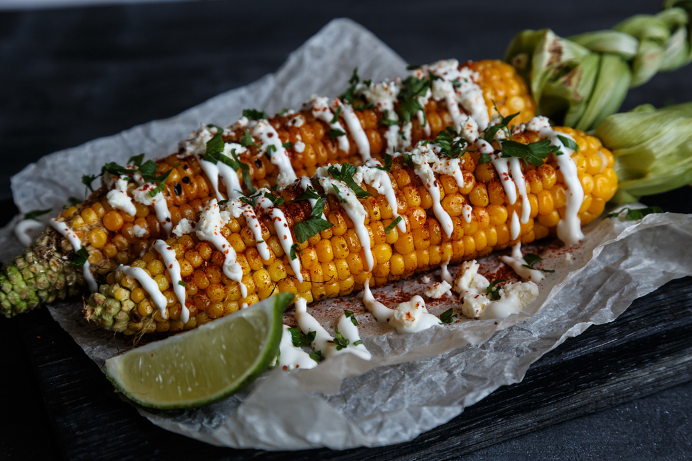 Mexican Foods With Corn