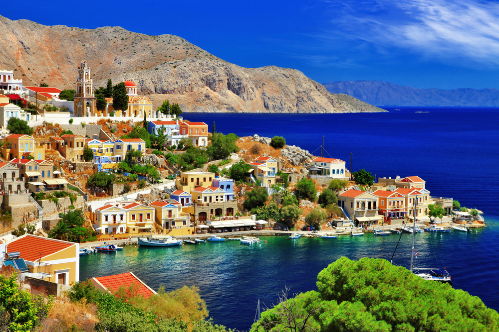a holiday in symi