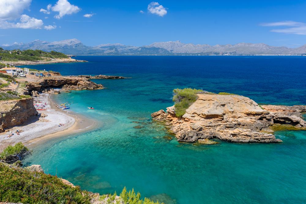 Playa de alcudia majorca
