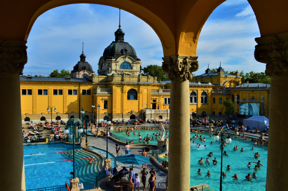 thermal baths budapest szechenyi