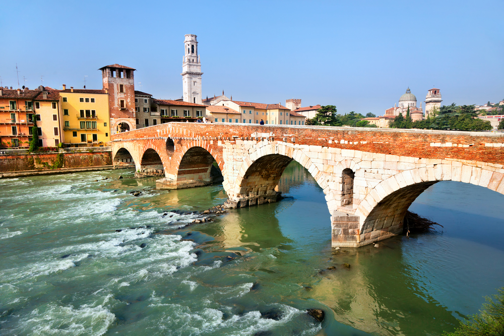 citi of verona in italy