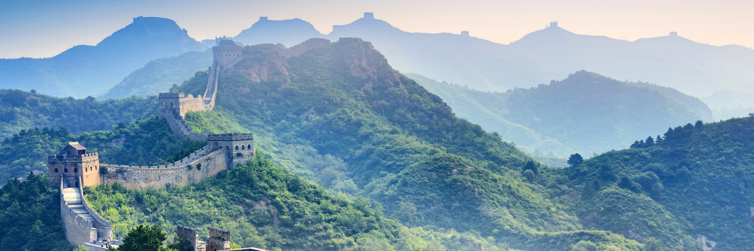 travelling abroad - great wall of china