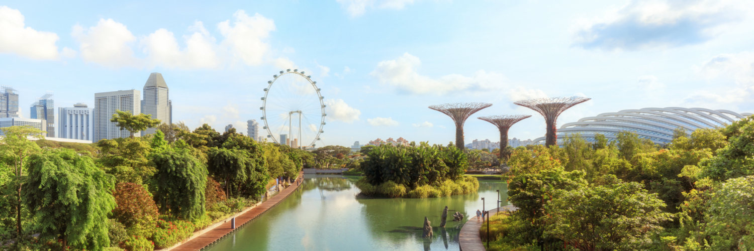 singapore airlines stopover singapore view
