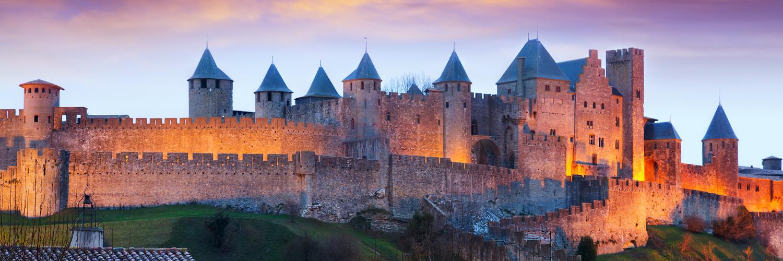 Carcassonne, france City Break