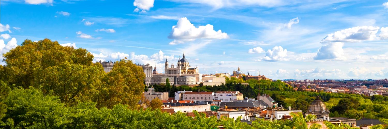 Madrid-Skyline-Spain
